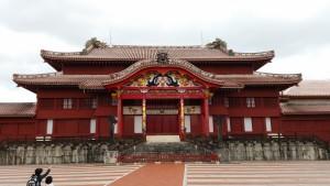 The iconic Shuri castle