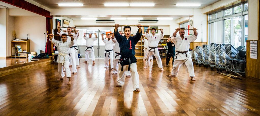 Kenta Kinjo sensei running us through our paces in 2015
